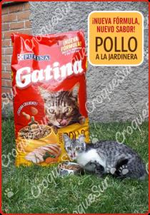 Gatina 20 kg sabor Pollo a la Jardinera Image