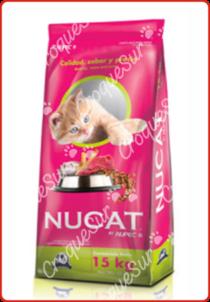Nucat Alimento Gatos Adultos 15 kgs Image